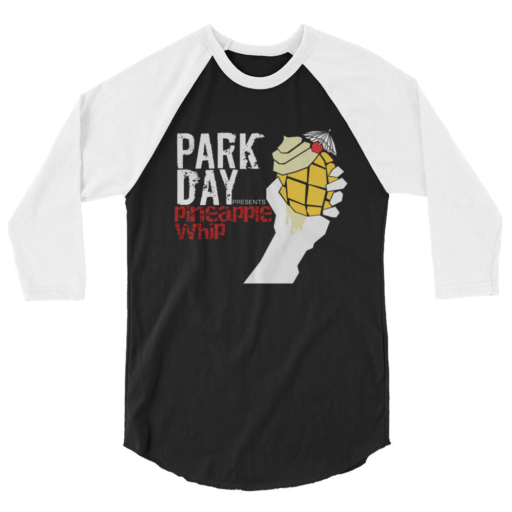 Park Day Dole Whip 3/4 sleeve raglan shirt