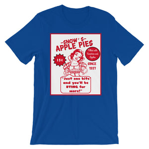 Snows Apple Pies Short-Sleeve Unisex T-Shirt