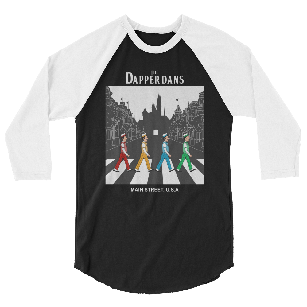 The Dapper Dans DL 3/4 sleeve raglan shirt