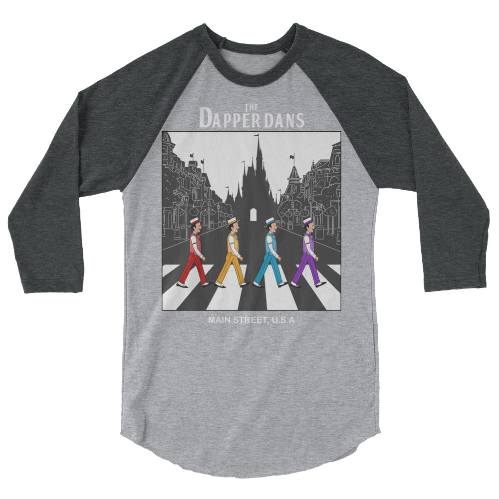 The Dapper Dans WDW 3/4 sleeve raglan shirt