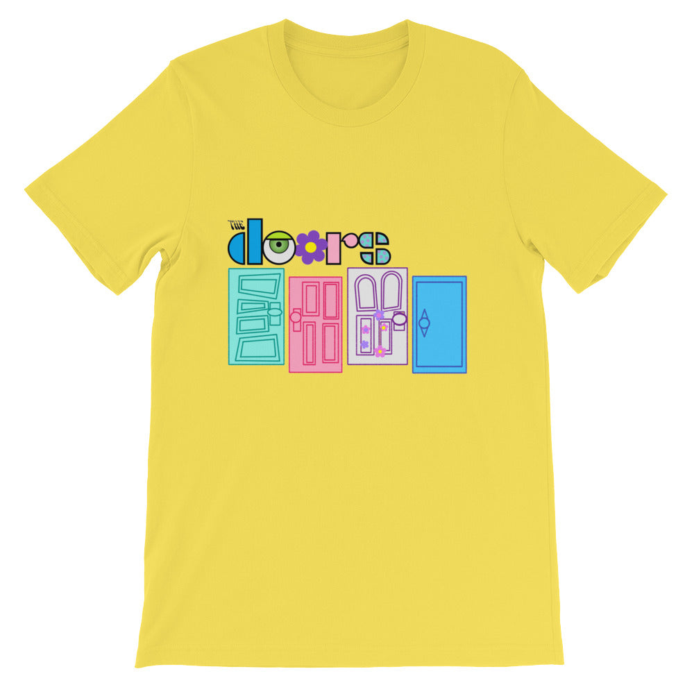 Monsters Inc Doors Short-Sleeve Unisex T-Shirt