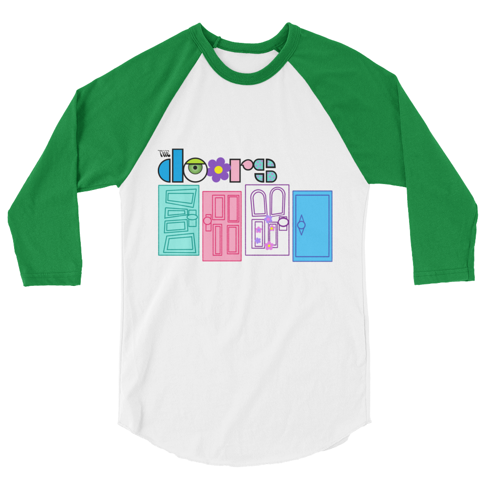Monsters Inc Doors Raglan shirt