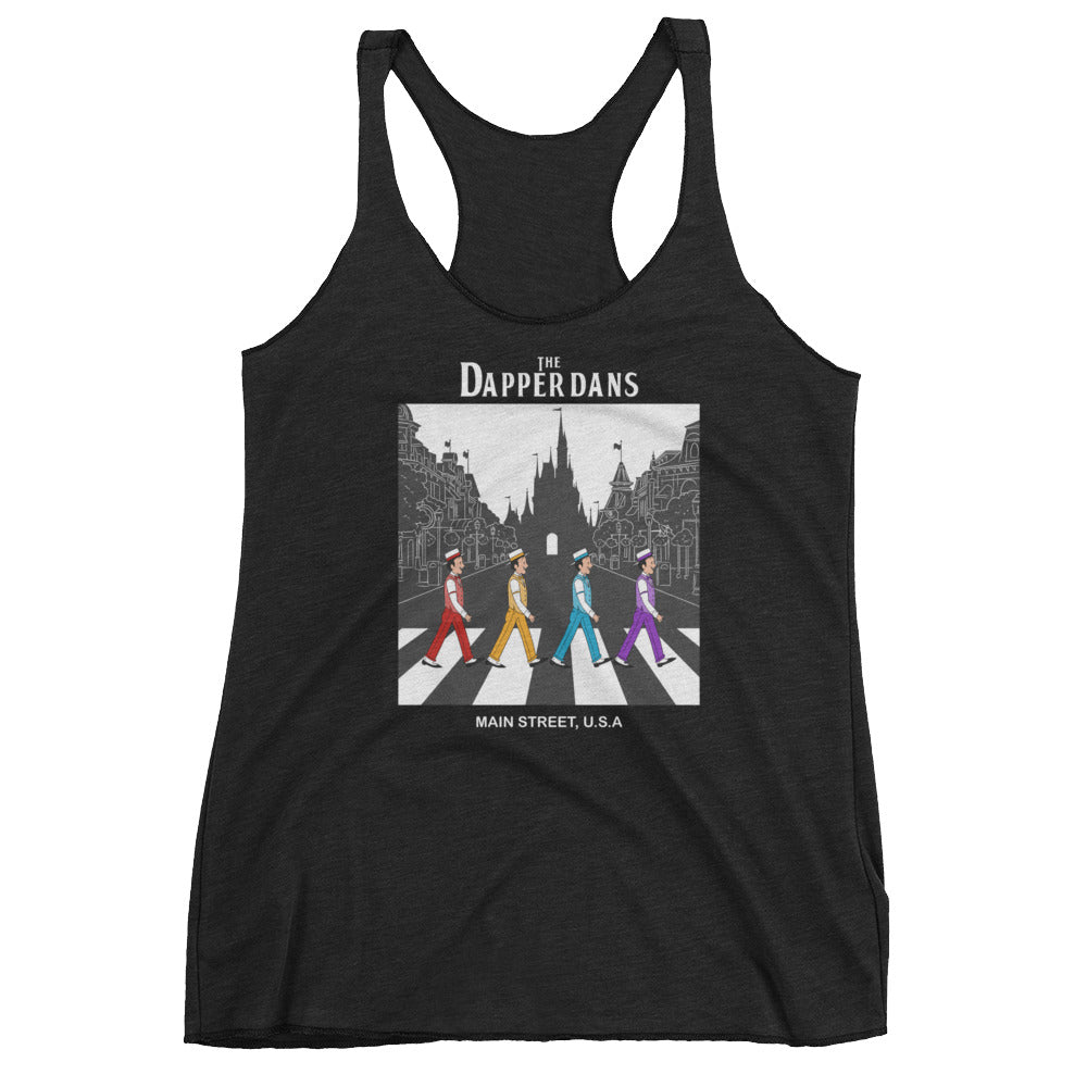 The Dapper Dans WDW Women's Racerback Tank