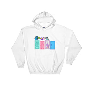 Monsters Inc Doors Hooded Sweatshirt
