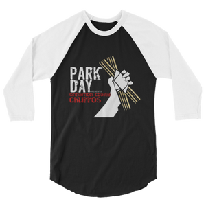 Park Day presents Churros 3/4 sleeve raglan shirt