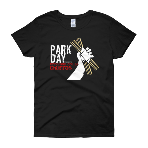 Park Day presents Churros Women's short sleeve t-shirt