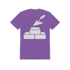 CONCRETE BOYS PURPLE TEE