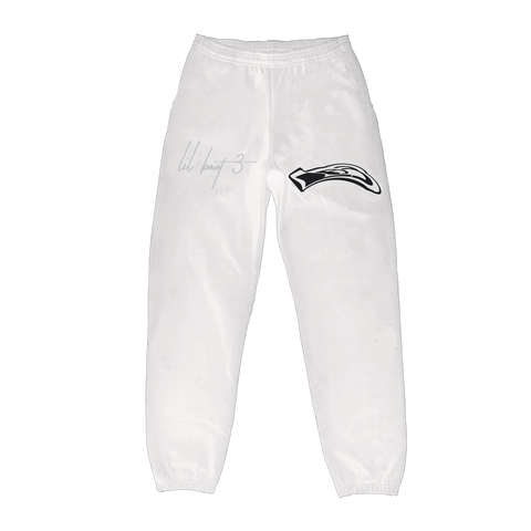 LB3 ID WHITE SWEATPANTS + DIGITAL ALBUM