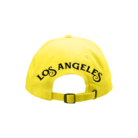 LA Pizzeria Yellow Dad Hat