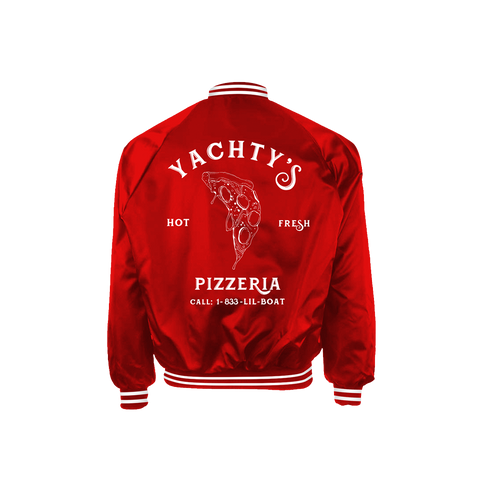 Pizzeria Satin Red Jacket