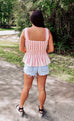 Kristen Smocked Babydoll Top