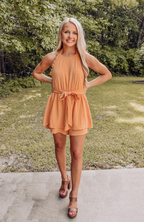 Sweet Summertime Layered Romper
