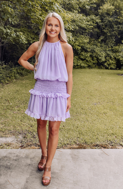 Chasing Dreams Smocked Dress