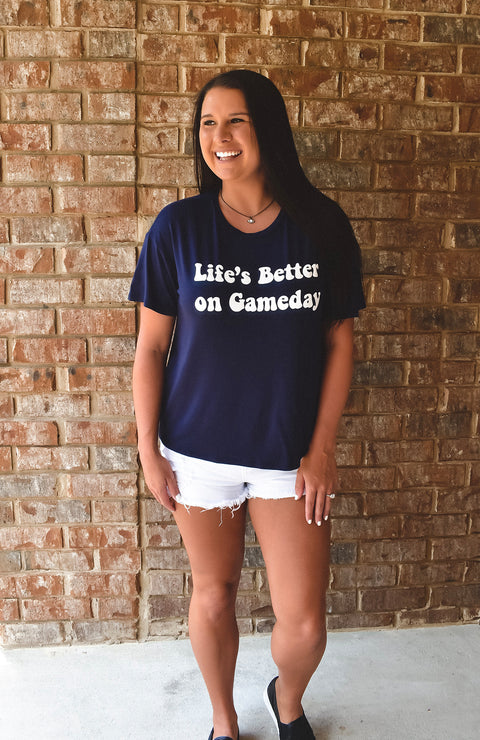 Life Is Better On Gameday in Navy