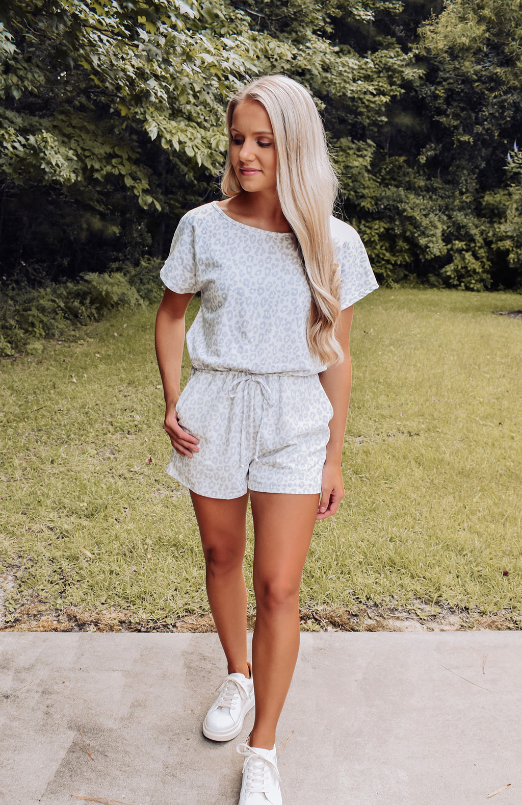 Wild About You Leopard Romper