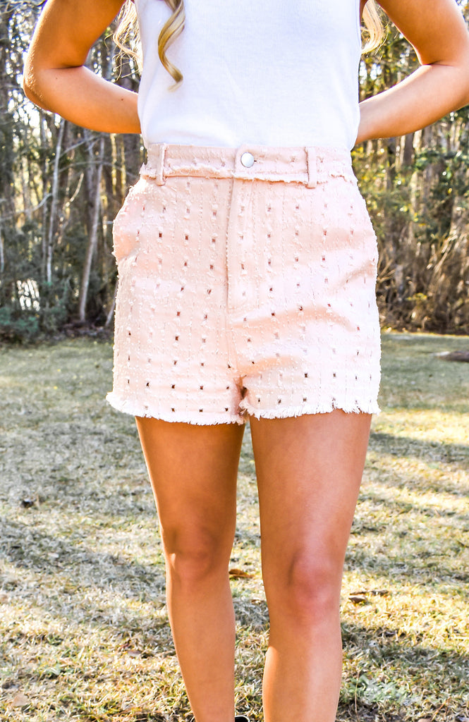 Clearwater Eyelet Shorts