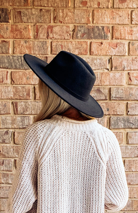 All Season Long Hat - Black