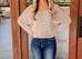 Asheville Oatmeal Knit Sweater