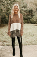 Snuggle Up Chenille ColorBlock Sweater