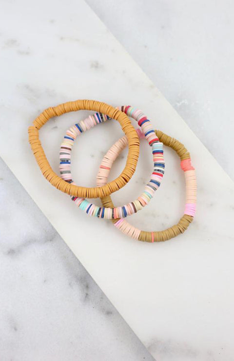 Torrey Beaded Bracelet Stack