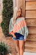 Afternoon Haze Off The Shoulder Tie-Dye  Top