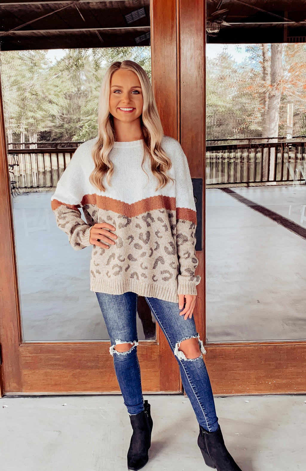 Eva Leopard Sweater