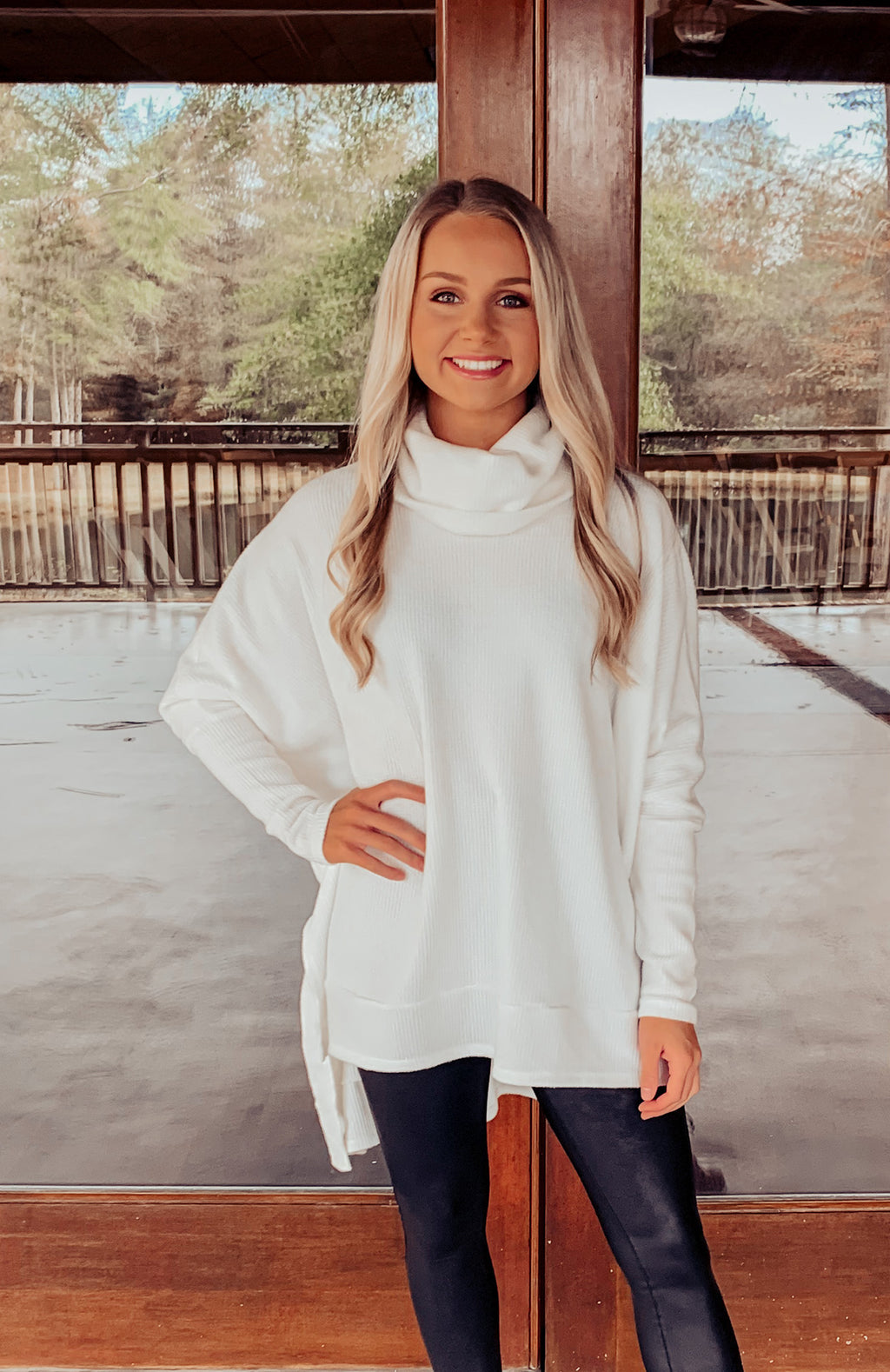 Cozy Times Thermal Sweater