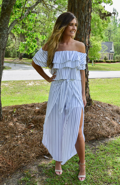 Turks & Caicos Striped Set