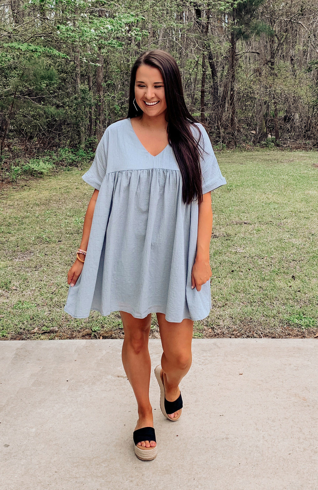 Gulf Coast Babydoll Tunic Dress