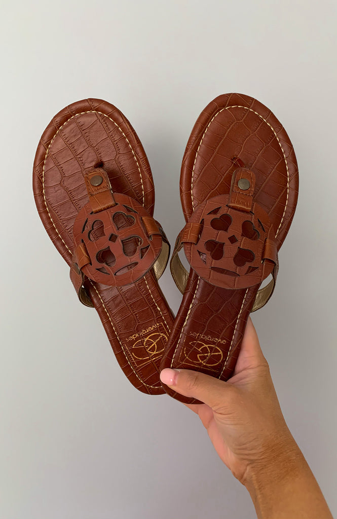 Sadie Brown Sandals
