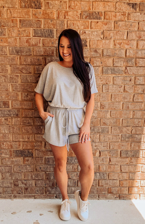Homebody Comfy Pocketed Romper