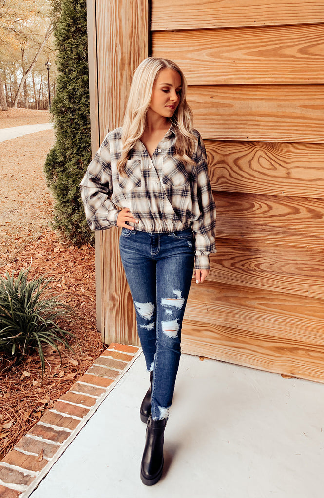 Valley Days Plaid Top