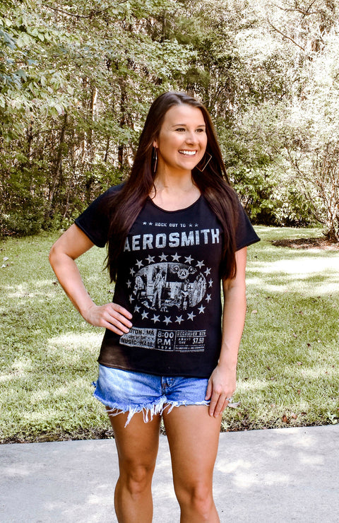 Rock Out To Aerosmith Graphic Tee