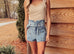 Coast Line Denim Shorts