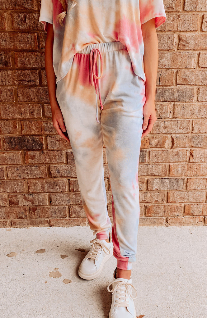Tie Dye Dreams Pocketed Joggers