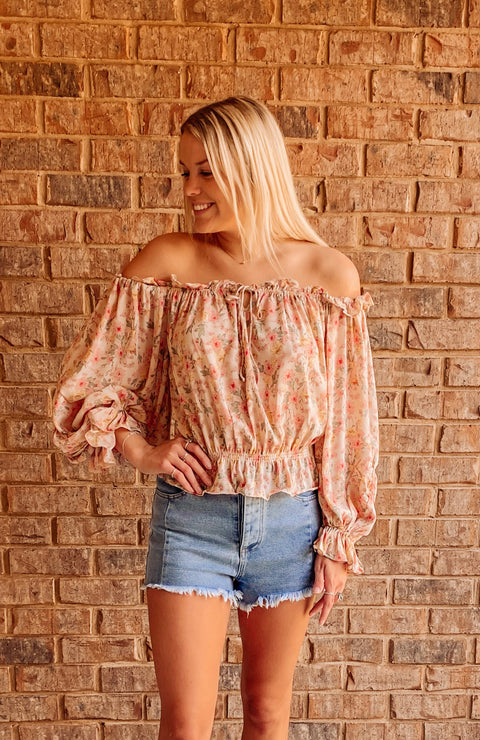 Valley Days Floral Top