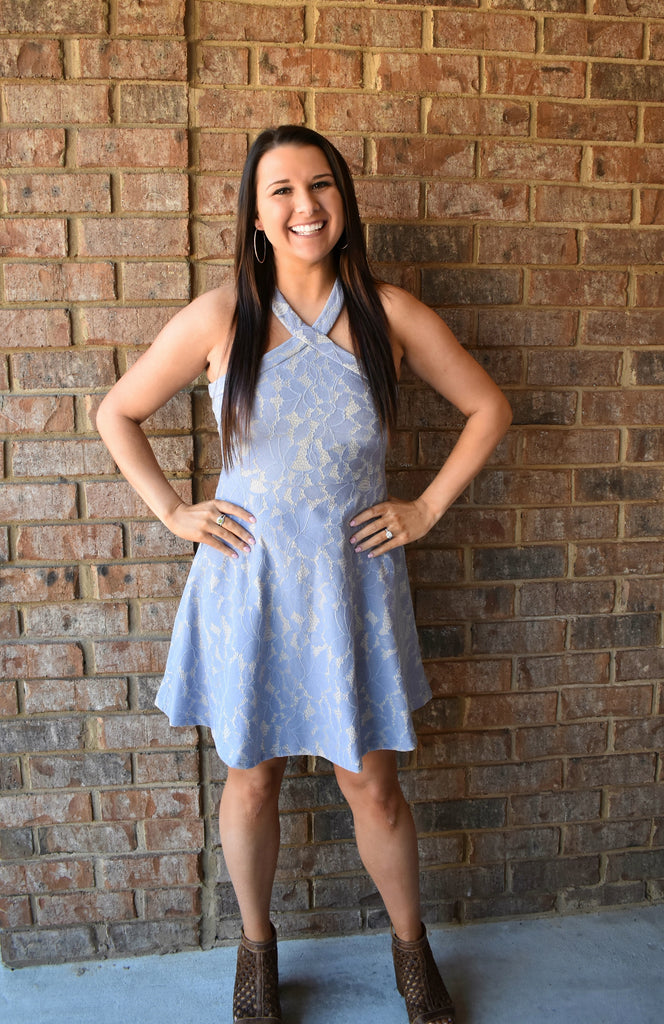 Abigail Fit & Flare Dress