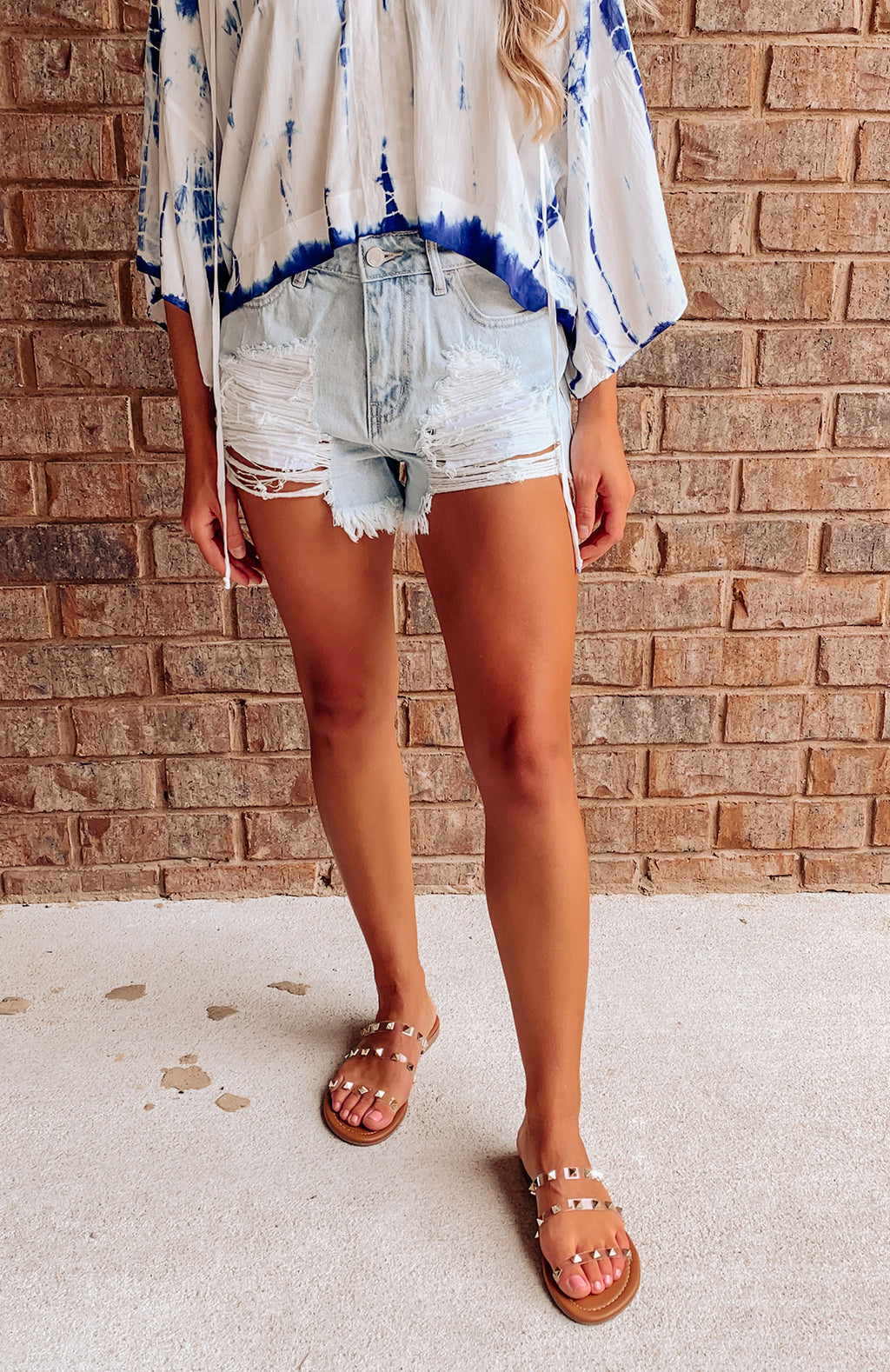 Outer Banks Distressed Shorts