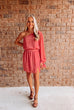 Palm Springs Cold Shoulder Jumpsuit