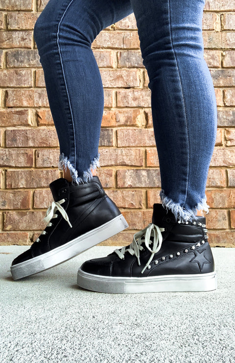Teagan High Top Sneakers
