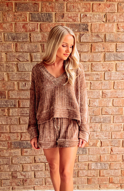 Cozy Vibes Chenille Lounge Set