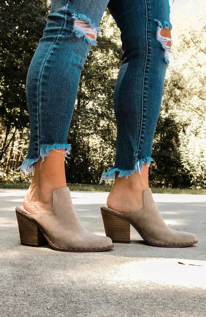 Chinese Laundry Springfield Suede Mules