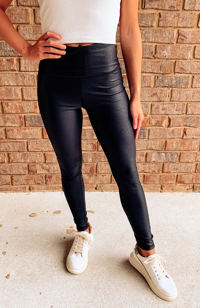 The Best Faux Leather Leggings
