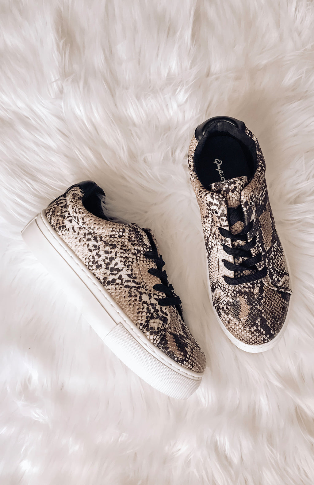 Easton Snakeskin Sneakers