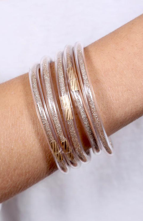 Eye Catching Glitter Bracelet Bangles