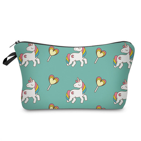 Unicorn Cosmetic Bag - 7ucky