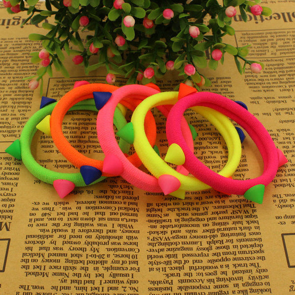 10 Pieces Rubber Band Hair Accessories - 7ucky