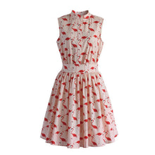 Women's Fun Flare Print Dress - 7ucky