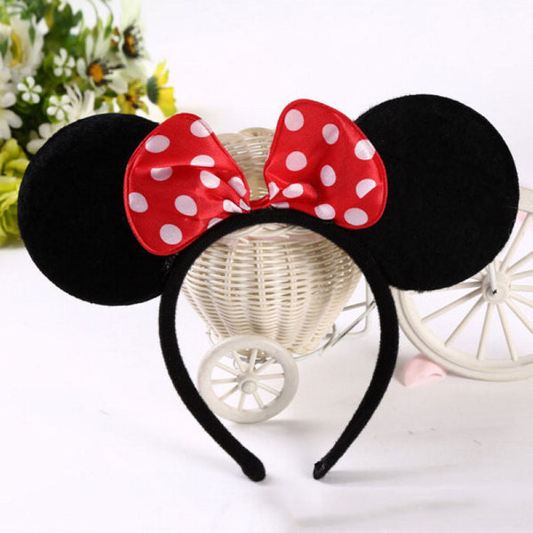 Minnie Mouse Ears Headband - 7ucky