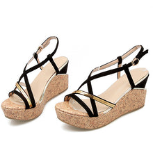 Women's Enmayer Classic Black Sandals